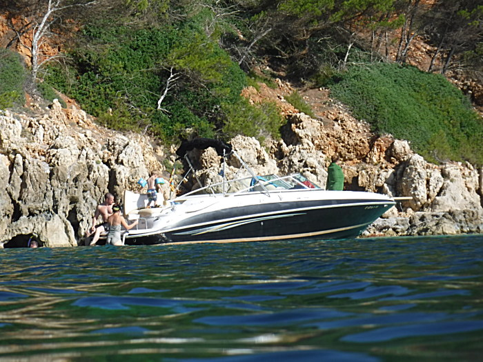 boat tours menorca, south coast beaches, macarella, turqueta, menorca, skippered boat rental, boat rent menorca